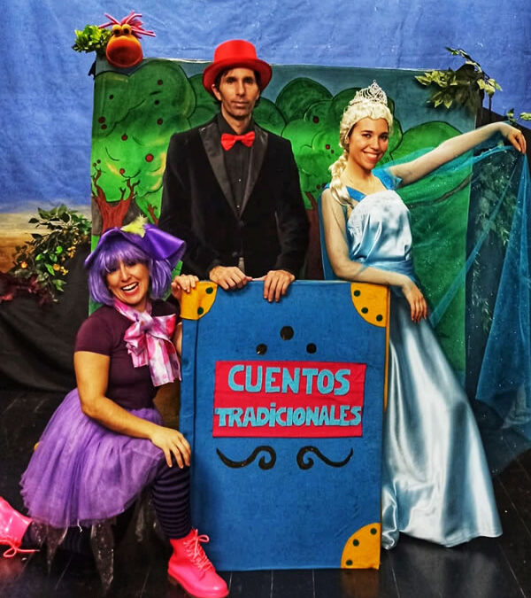 Una tarde mágica con Randolf, Frozen, Caperucita y Blancanieves